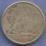 1961_canada_10_cents_reverse